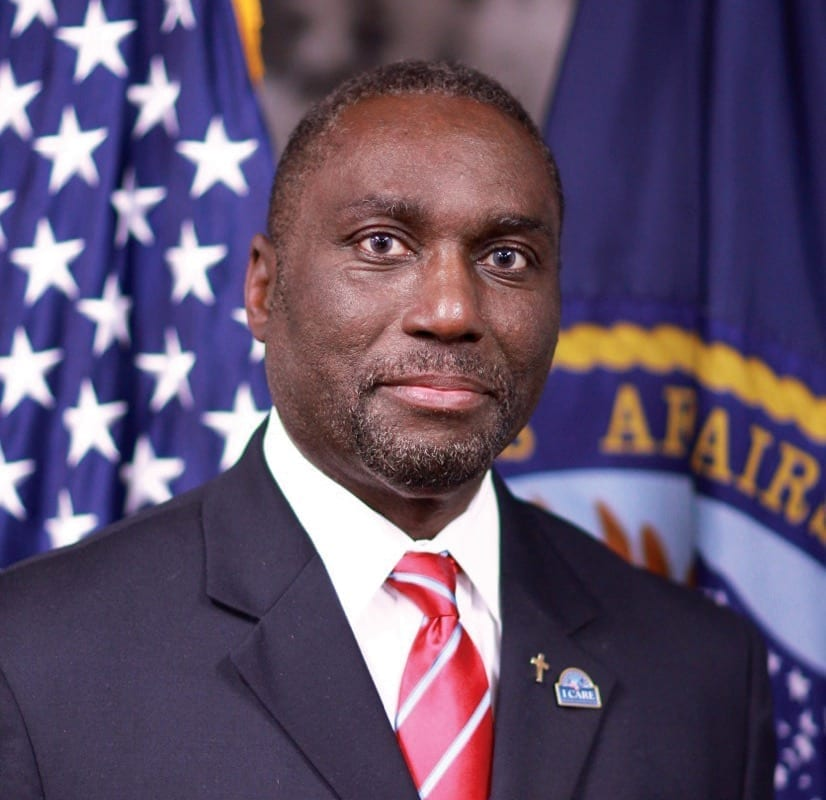 Michael L. McCoy, director of the VA's National Chaplain Center. VA PHOTO