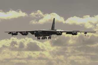 B-52 arrives Guam