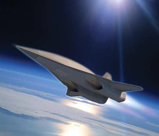Artist rendition of a Skunk Works hypersonic design. Image Source: Skink Works