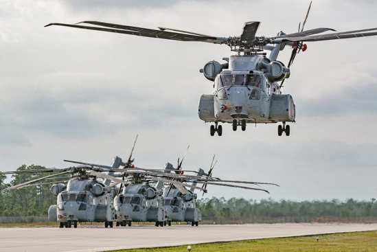 CH-53K 360 Degree In-Flight View | Video