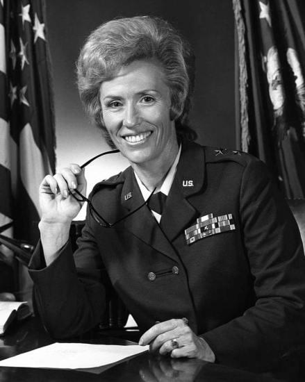 Maj. Gen. Jeanne M. Holm