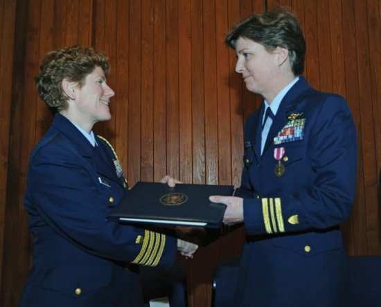 Kelly Mogk Larson USCG women