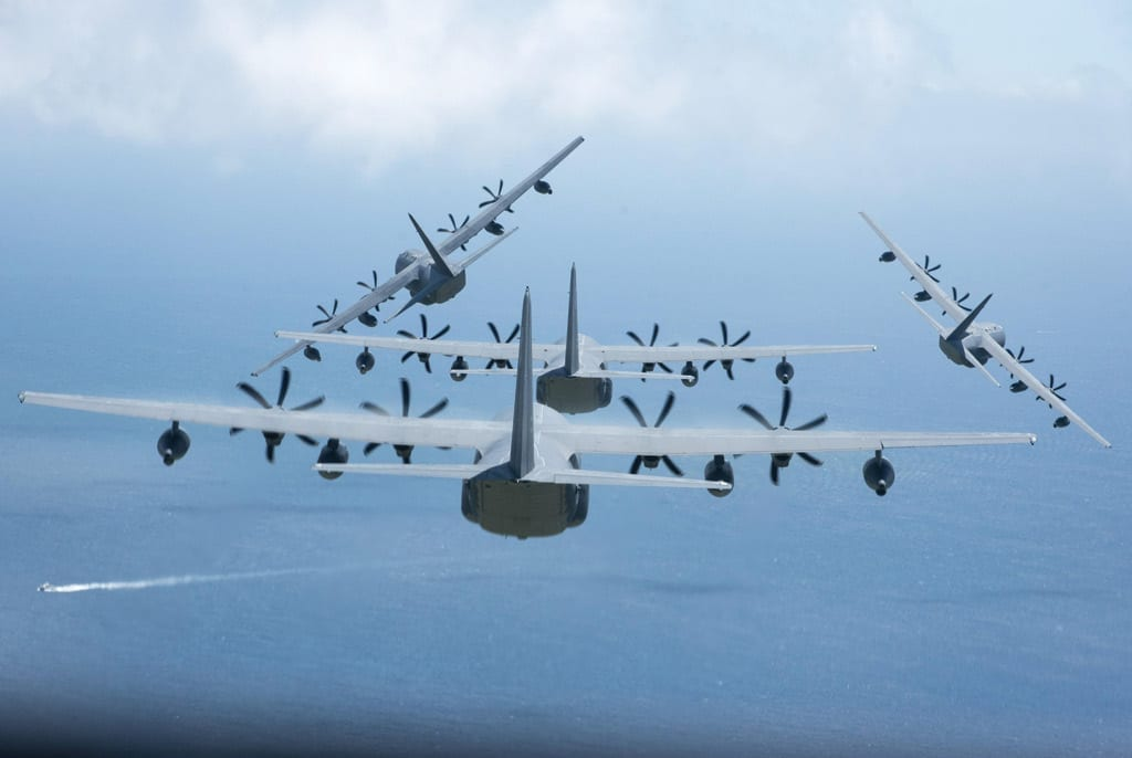 Brigadier General Brenda Carter flew MC-130J like the ones seen in the image. (U.S. Air Force Image)