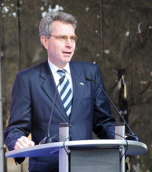 Ambassador Geoffrey Pyatt interagency partners