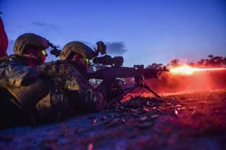 M240 night fire training MARSOC year in review