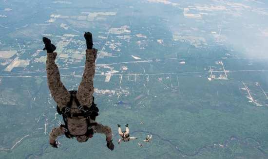 SEAL free fall operations Rear Adm. Tim Szymanski
