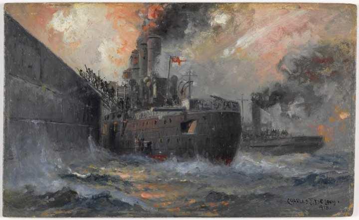 Zeebrugge-raid-Vindictive
