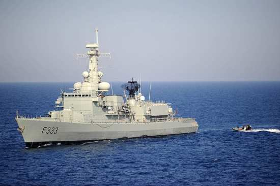 NATO SeaSparrow frigate