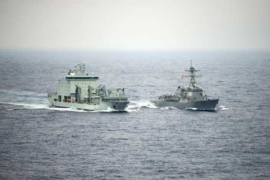 Asterix and DDG RIMPAC