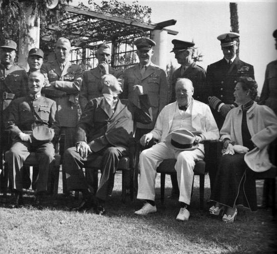 Somervell in Cairo 1943