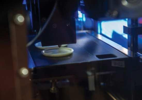 3d printer ISS web