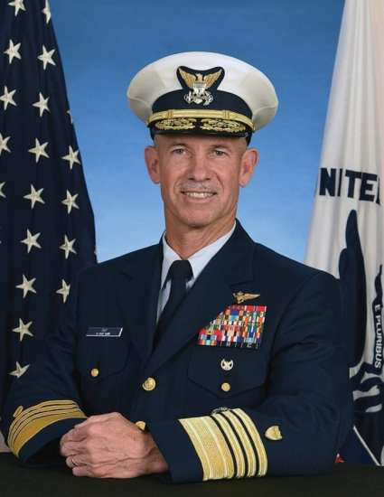 Adm. Charles W. Ray covered