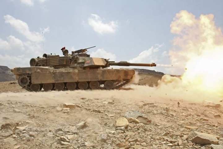 M1A1 Abrams tank in live-fire range. Photo courtesy to Northrop Grumman.