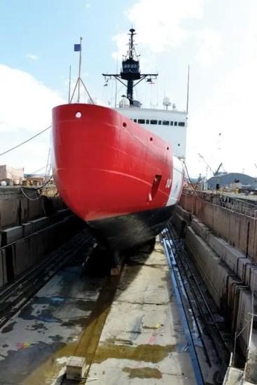 Polar Star drydock