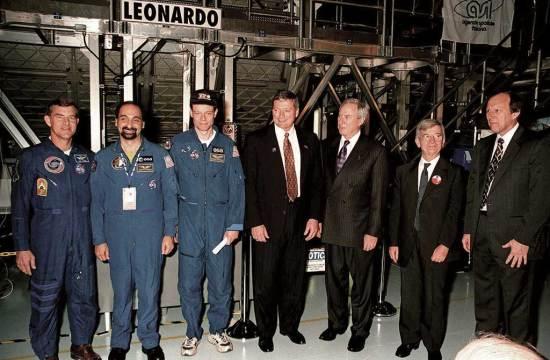 Randy Brinkley MPLM transfer ISS web