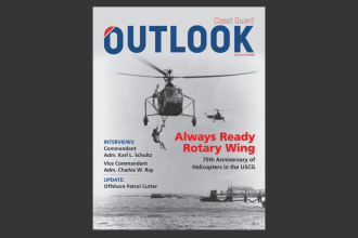 COAST GUARD OUTLOOK 2018 - 2019 COVER IMAGE