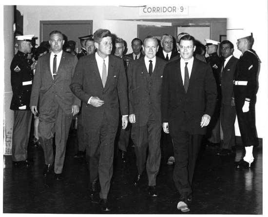 Kennedy in Pentagon