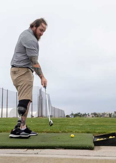 Wounded Warrior-golf