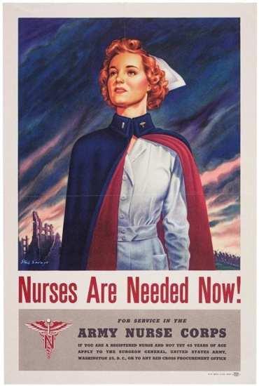 Nurse poster WWII