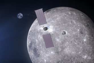 NASA announces the first partnership of its kind with MAXAR Technologies to power the future lunar orbiting station.