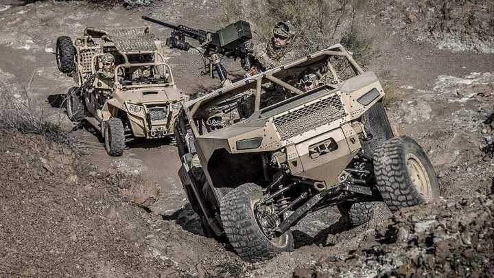 Saic And Polaris Team On Army Infantry Squad Vehicle