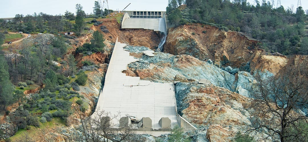 Oroville Washout Aftermath