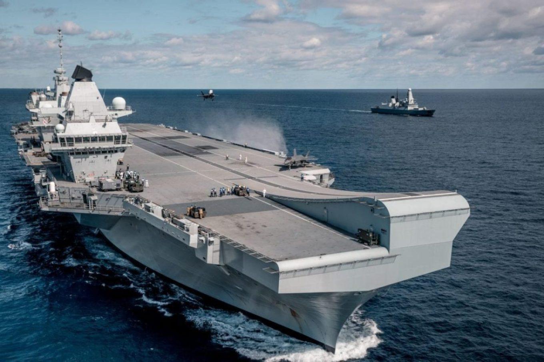 F-35 Royal Navy HMS Queen Elizabeth Naval Aviation Surface ships