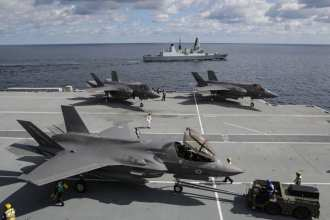 F-35 Royal Navy HMS Queen Elizabeth Naval Aviation Surface ships