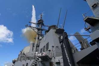Roosevelt Missile shoot