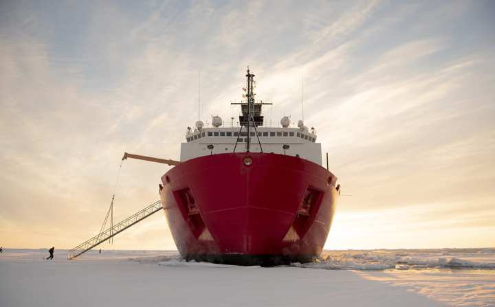 Coast Guard Cutter Healy Ice breakers USCGC Healy Arctic Presence