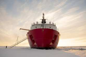 Coast Guard Cutter Healy Ice breakers USCGC Healy Arctic Presence