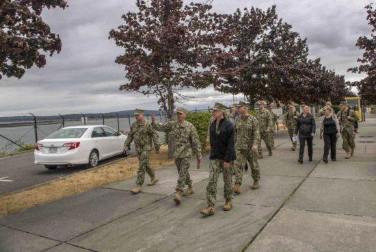 CNIC Admiral Visits NSE