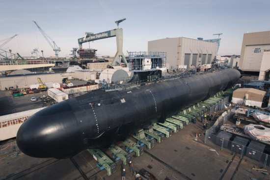 Roll-out of SSN 791 Delaware