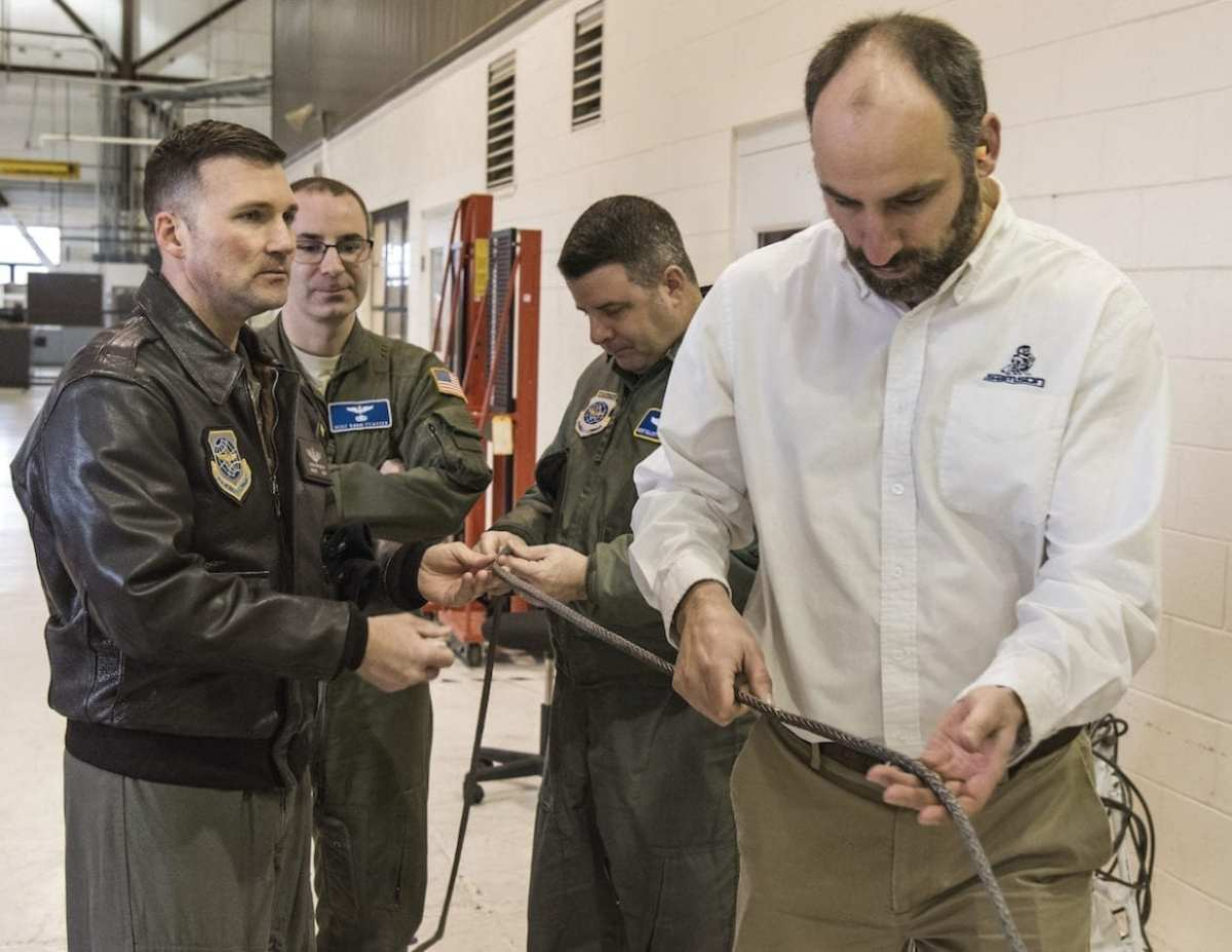 Air Force Research Laboratory Synthetic Cable Lighter-than-steel