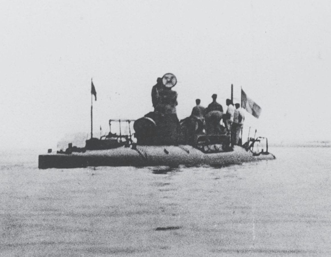 The French submarine Narval (Narwhal), commissioned in October 1899, incorporated a double-hull design and dual propulsion systems, among other innovations, which set design elements for submarines right up until the advent of nuclear propulsion.