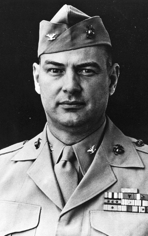 Col. Justice M. Chambers, USMCR.