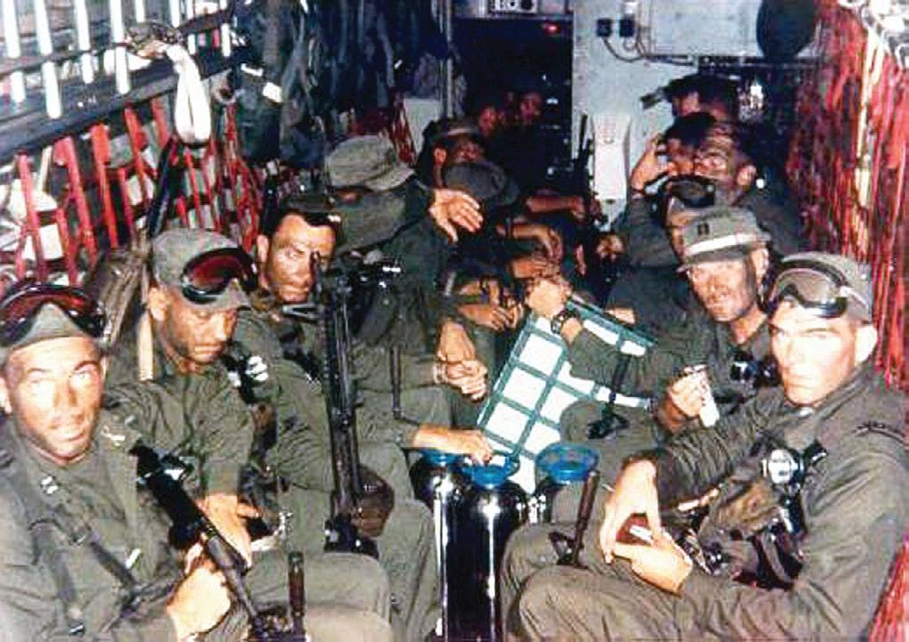 Blueboy raiders on the way to Son Tay Vietnam War Special Operations