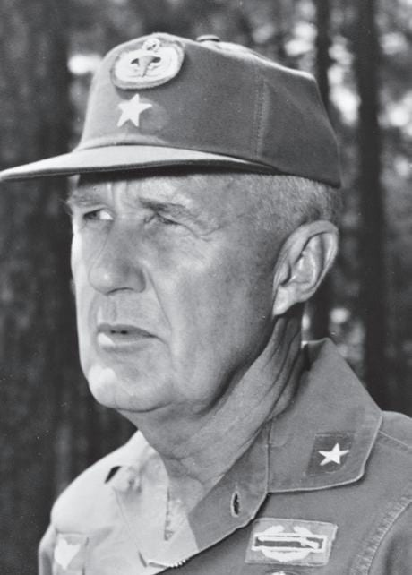 Gen. Donald Blackburn, who obtained Joint Chiefs of Staff