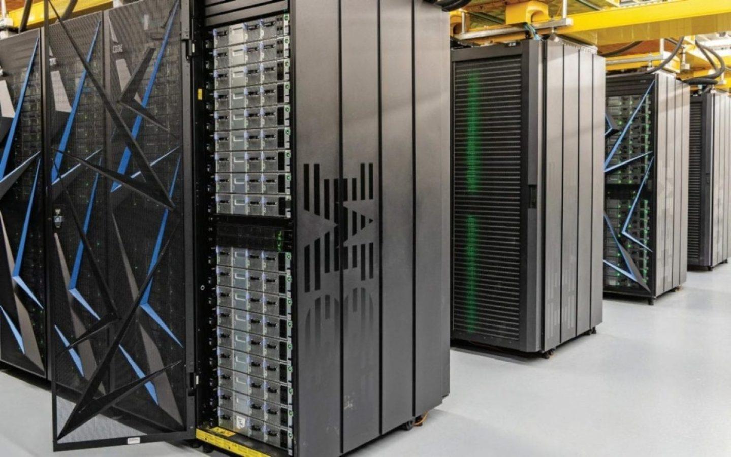 The Summit supercomputer at the Department of Energy's (DOE) Oak Ridge National Laboratory.