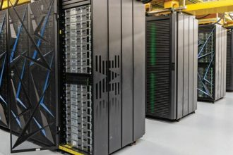 The Summit supercomputer at the Department of Energy's (DOE) Oak Ridge National Laboratory.