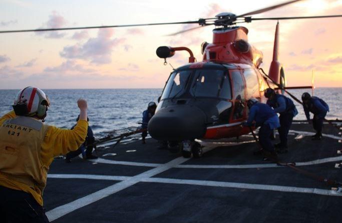 USCG Coast Guard Cutter Valiant