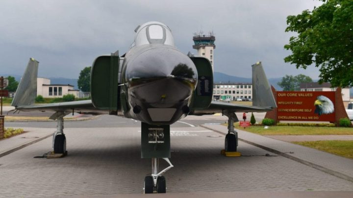 F-4 PHANTOM II USAF GERMANY RAMSTEIN AFB