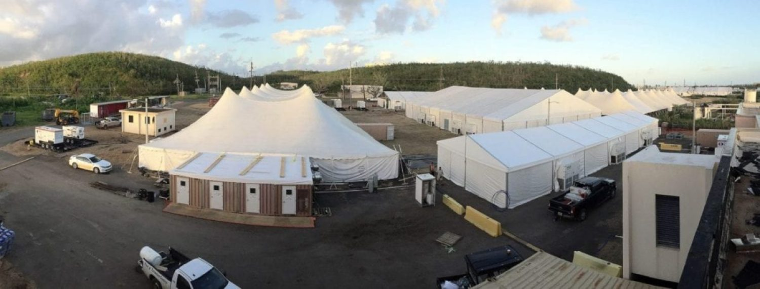 Roosevelt Roads base camp in Puerto Rico
