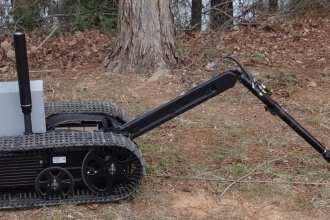landmine detection robot qinetiq