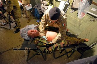 simulated military casualty training