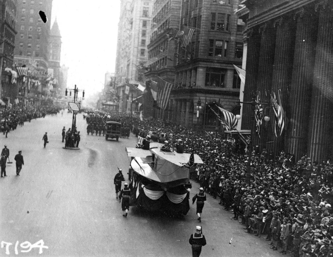 The Liberty Loans Parade in Philadelphia, Pennsylvania, on Sept. 28, 1918, attended by 200,000, was a superspreader event that became known as the deadliest parade in American history. More than 17,000 Philadelphians subsequently died.