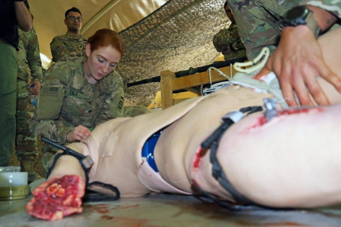 Simluated Combat Care Military