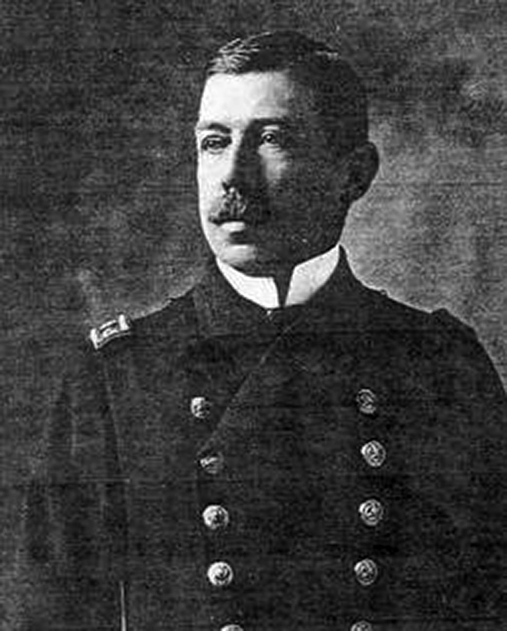 American Samoa's Naval Governor Cmdr. Poyer. His strict quarantine saved American Samoa from the disaster that befell its British neighbor.