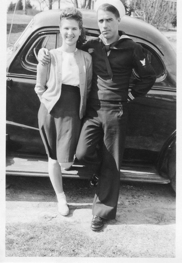 Peter Marshall and his wife Faye in 1946. (Photo by André Sobocinski)