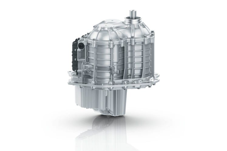 ZF Marine presents its new two-speed transmission, an industry-first, as part of the new V12 Verado outboard engine developed by Mercury Marine. After four years of partnership and collaboration, the new engine was officially launched Feb 11, 2021. (ZF Marine image)